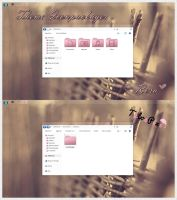 Tema Iconpackager Rosa by TutosPixi